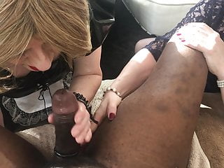 Bare Black Sissy Cock Servants