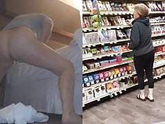 Masturbating Maniac Gilf Goes Grocery Shopping
