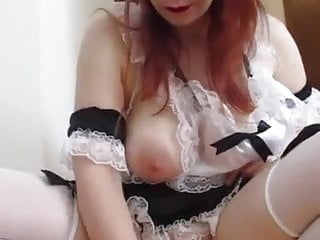 toy in cameltoe pussy