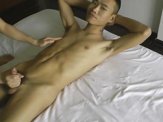 Bigstraight asian guys handjobs...