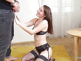 GERMAN SCOUT - SHY TEEN FUCK AT FAKE MODEL JOB FOR CASH