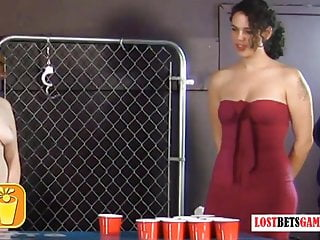 Strip Beer Pong has By no means Been so Scortching hot