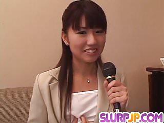 Misato kuninaka to end with facial...