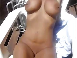 Milf Sun Bath Exhibitionist