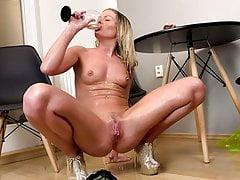 Claudia Macc Entertains Herself In Lockdown With Piss Play