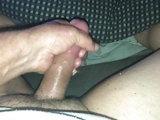 Cum from Big Cock