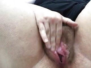 Hairy masturbate