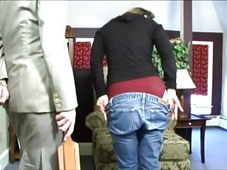 jeans pull down wedgie spanking