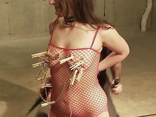 A commanding BDSM performance – humiliating Nora orally