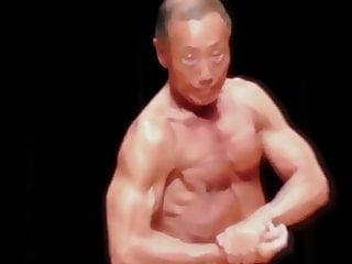 Japanese bodybuilder over 60 video 1...