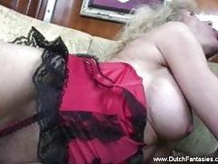 Old Dutch Blonde Mature Whore