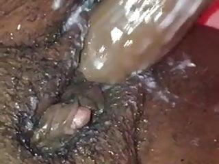Clit orgasim wet creamy pussy...