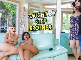 Muž vytrtká lesbicke nevlastné sestry