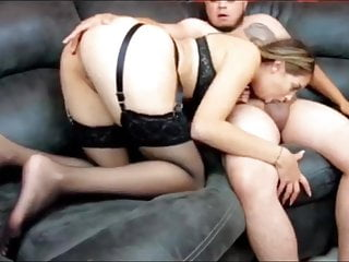 Horny girl gives amazing blowjob