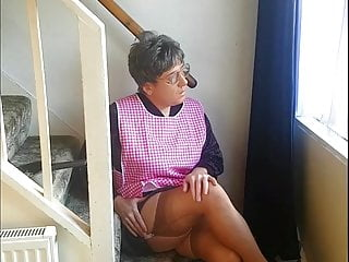 Granny tranny 039 spunky fun...