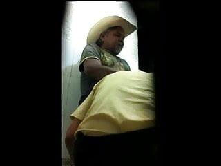 Mexican cruising porn cine blowjob goatee cowboy cums...