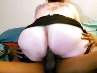 BIG ASS WIFE! bangs son's ebony good friend and husband helps! 01