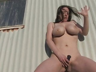 big boobed australian masturbates to a standing orgasmHD Sex Videos