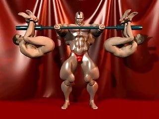 Cartoni porno gay bodybuilding...