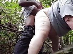 Interracial Bears in The Woods- jackebr