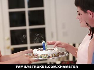 familyStrokes – Fucking  dad While Mom Cooks
