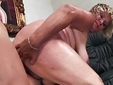Fat Blonde Granny Fucking Grandson's Best Friend