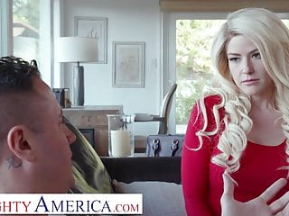 Naughty America Kit Mercer fucks her son's bully to get him