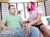 Ana Belle Peaks Facialed by Stepson