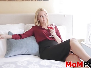 Aaliyah Love getting her pussy stuffed with cum in point of view