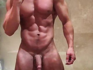 muscular stud shows good