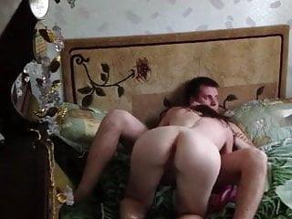 Cute couple fucking on camera...