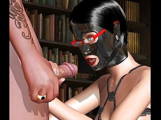3D latex BDSM kink mask ropes bondage nerd game AChat MGTOW
