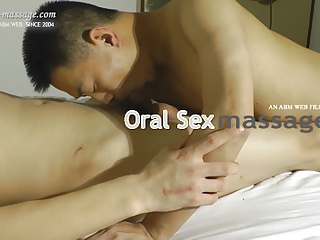 Asian oral sex massage...
