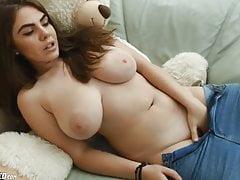 beauty sexy big natural tits teen masturbatingPorn Videos