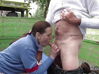 German milf mother sedcue to fuck by stranger...
