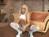 Cute blonde milf anal