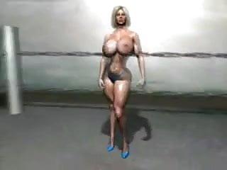 FPZ3D Sara vs Sofia 3D Catfight