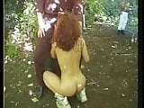 Public outdoor sex