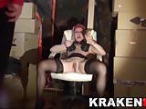 Krakenhot - Public submission in an exclusive BDSM scene