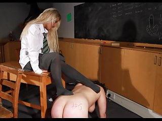 Hard humiliation...