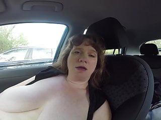 Cum Drop Sally Parking Lot Masturbation
