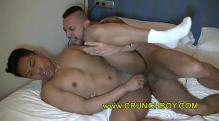 Handsome massage handjob spyfam