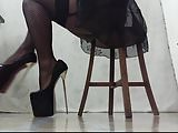 crossdress leg training
