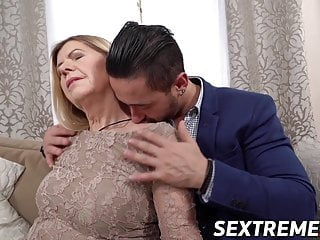 younger granny by fucked Naughty and stud facialized