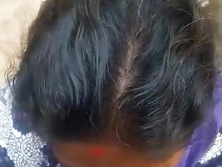 Tamil aunty receiving partner's cum in her mouth