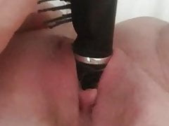Hairbrush fucking