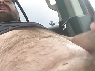 Hairy  and his load bear cums swallows