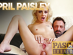 PASCALSSUBSLUTS - Blond Sub April Paisley Fucked Roughly