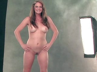 Redhead kathryn strips all at the la casting...