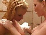 Nikki Tyler lesbian shower